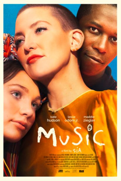 Sia 'MUSIC' movie cover. Source: https://www.siamusic.net/music-the-film-info