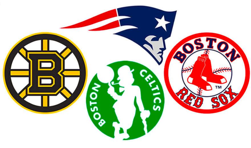 Boston's 4 Major Sports Teams