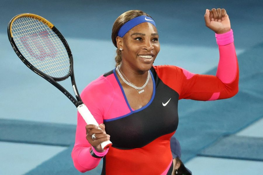 Figure 1. A picture of Serena Williams playing tennis.